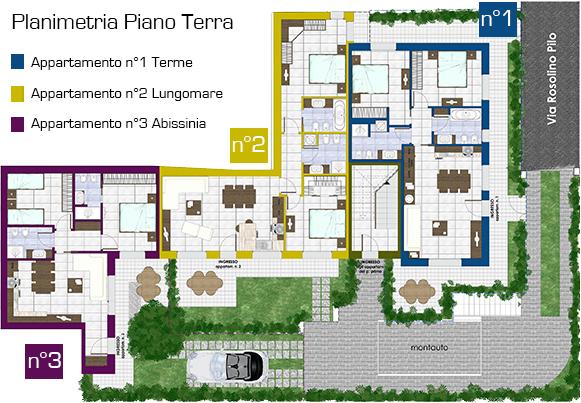 planimetria appartamenti biancospino PT